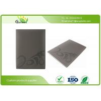 China Personalised Embossed Notebooks with 2mm Thick Greyboard Cover 100 Sheets Inside Paper on sale