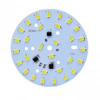 Buy cheap Immersion Gold Double Side PCB Board Round Led PCB Board 1W - 100W from wholesalers