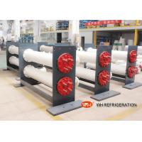 Buy cheap ISO Approved Shell & Tube Stainless Steel Heat Exchanger 30 hp Refrigeration from wholesalers