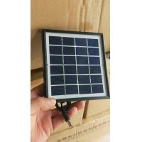Buy cheap ZW-3W-6V-2 Glass Laminated transparent solar panels battery charger 6V portable power station 3 Watt from wholesalers