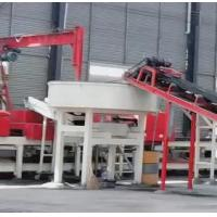 Buy cheap JQT high frequency lightweight concrete partition wall board production line from wholesalers