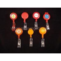 Buy cheap Different various types red and orange badge reels, retractable reel, promotiona product