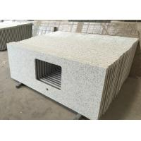 Buy cheap Quartz Engineered Stone Vanity Tops Squared Sink Hole Prefabricated Vanity Countertops from wholesalers