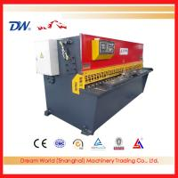 Buy cheap QC12K metal plate shearing machine , stainless steel cutting machine from wholesalers