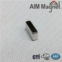 "Buy cheap 3/8 "" x 1/8 "" x 1/16"" block shape ndfeb industry application widely use magnet from wholesalers"