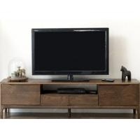 Buy cheap Long Hotel TV Cabinet Walnut Solid Wood Frame Modern Style 1800 *4 00 * 480 from wholesalers