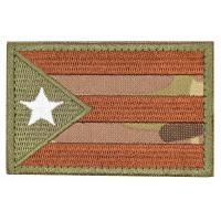 Buy cheap Custom Military Embroidered Badges / Twill Fabric Velcro Hat Patches from wholesalers