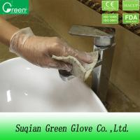 Buy cheap Cleaning Room Disposable Gloves Force At Break 3.6N from wholesalers