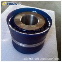 Wholesale Oil Drilling Industry Triplex Mud Pump Piston Unb-600 Double Action Piston PU Rubber from china suppliers