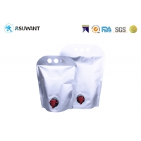 Buy cheap Bib Bag In Box Food Grade Portable Shape Spout Packaging With Water-Tap For Wine / Fruit Juice / Oil from wholesalers