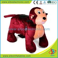 Buy cheap Coin Operated Machine Plush Animal Ride On Toy Zippy Ride On Animal from wholesalers