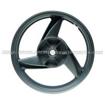 Buy cheap Black Custom Motorcycle Wheels For Kawasaki ER5 All Years 3.5 X 17 from wholesalers