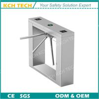 Wholesale 304 Stainless Steel Finger Print Scanner Full Automatic Tripod Turnstile from china suppliers
