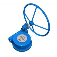 Buy cheap Cast Steel Quarter Turn Gearbox WCB Gear Operator Butterfly Valve Gearbox IP67 from wholesalers
