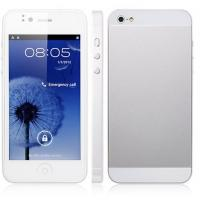 Buy cheap 4 China mobile phone MTK6577 Dual core 3G Wifi Android 4.0 I5 5i cell phone from wholesalers