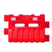 Buy cheap HDPE Material 900mm Height Water Filled Jersey Barriers Red White Color from wholesalers