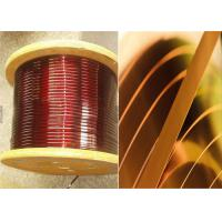 Wholesale 0Enamelled Rectangular Magnet Wire .02 - 1.8mm Square Copper Wire For Smart Phones from china suppliers