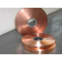 Buy cheap Electrolytic Copper Strip / Tape Non Ferrous Metals Strips from wholesalers