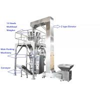 Buy cheap Fully PLC Multihead Weigher Packing Machine For Peanut / Dry Fruits / Corns With Vacuum Sealing from wholesalers