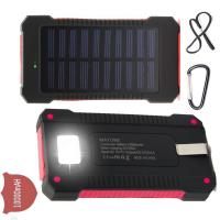 Buy cheap Waterproof Solar Charger Power Bank Micro USB Socket Type For Samsung Galaxy product