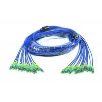 Buy cheap Customized Armored Fiber Optic Patch Cord FC / SC / ST / LC Connector from wholesalers