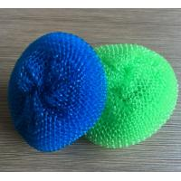 Buy cheap Antibacterial Plastic Mesh Scrubber PP Material For Restaurant Washing Pot from wholesalers