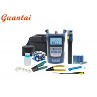 Buy cheap 9 In 1 FTTH Fiber Optic Inspection Tool , Cable Stripping Tool Simple Operation from wholesalers