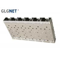 Buy cheap 6 Ports Ganged SFP Box Assembly Compatible With SFP Transceiver Press Fit from wholesalers