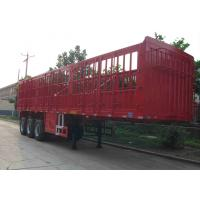 Buy cheap 40T Tractor Trailer Truck / Warehouse Gate Semi Trailer With Mechanical Suspension from wholesalers