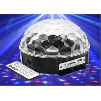 Buy cheap LED Magic Ball Light With MP3 , Crystal LED Effect Lights For Stage / KTV from wholesalers