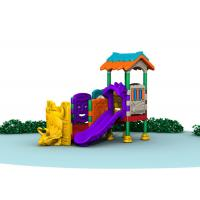 Buy cheap Little Kids Outside Playset / Kids Plastic Play Structure With Slide  TQ-QS004 from wholesalers