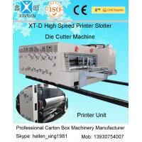 China Horizontal Semi Automatic Cartoning Machine Corrugated Box Making Machine on sale