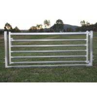 Buy cheap Portable Sheep Yard Panels 16X 48 Galvanized 40mm Square Pipe Material from wholesalers