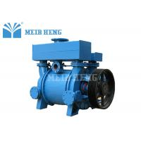 Buy cheap Belt Pulley Driven Single Stage Vacuum Pump Industrial Liquid Ring Vacuum Pump from wholesalers