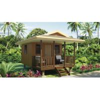 Wholesale Quick Assemble Light Steel Guage Frame Prefab Home Beach Customized Bungalows from china suppliers