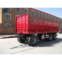 Buy cheap Durable Full Trailer Truck Optional Colors  For Bulk And 20 Feet Container from wholesalers