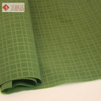 Buy cheap Contemporary Flocked Jewelry Box Liner Fabric , Green Velvet Upholstery Fabric from wholesalers