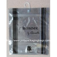 Buy cheap Anti Static Aluminium Foil Bag With Plastic Hook For Underwear / Shorts from wholesalers