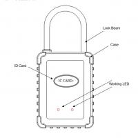 Buy cheap Container Monitoring GPS Tracker Lock / Dust Proof GPS Location Lock from wholesalers