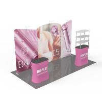 Quality 3X6 Reusable Trade Show Booth Displays , Pop Up Exhibition Stands Machine Washable for sale