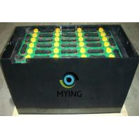 Buy cheap Electric Fork Truck Battery For Forklift , Pallet Jack Battery 198mm Cell Width from wholesalers