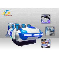 Wholesale 6 DOF Motion Ride 6 Seats 9D Virtual Reality Cinema Simulator With 79 Pieces Movies from china suppliers