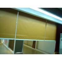 Buy cheap Yellow Electric Fabric Roller Blind, Motorized Roller Shades from wholesalers