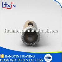 Overall length for 60mm for Stone/Ceramic/Glass Golden Brazed Diamond Core Drill Bit Manufactures