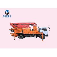 Buy cheap X X Type Outrigger Truck Mounted Concrete Boom Pump Automatic Hydraulic System from wholesalers