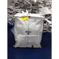Buy cheap White Conductive Big Bags , Fibc Big Bags Preventing Combustion And Explosion product