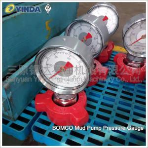 Wholesale 380207192602500514 Mud Pump Pressure Gauge BOMCO YK-150 380207192402511514 from china suppliers