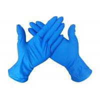 Buy cheap Soft Long Sleeve Nitrile Latex Glove Medical Materials  Latex And Nitrile Gloves from wholesalers