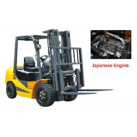 Buy cheap Mechanical Four Wheel Forklift Diesel Engine 7000kg Capacity Comfortable Design from wholesalers