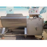 Buy cheap Leafy Vegetable Washing Machine 3kw Pump Power High Airflow Adjusted Speed from wholesalers